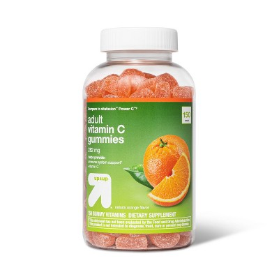 Vitamin C Gummies - Orange - 150ct - up & up™