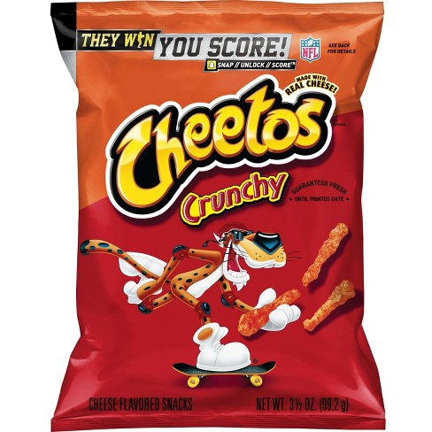 Cheetos Crunchy Cheese Flavored Snacks - 3.5oz - image 1 of 3
