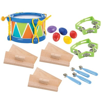 Kaplan Early Learning Toddler Rhythm Band Set of 5 Different Instruments