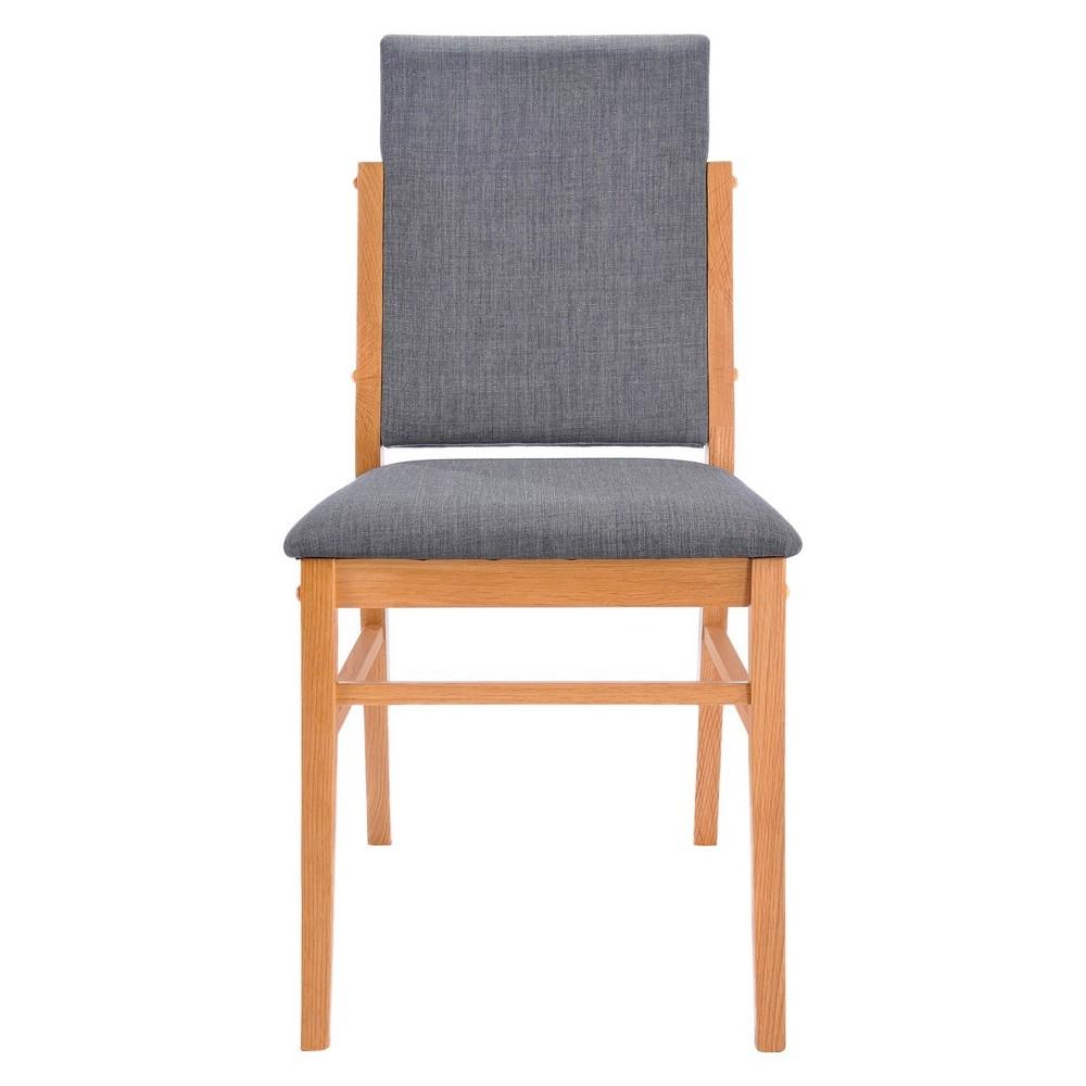 Dining Chair Wood/Gray - Aeon