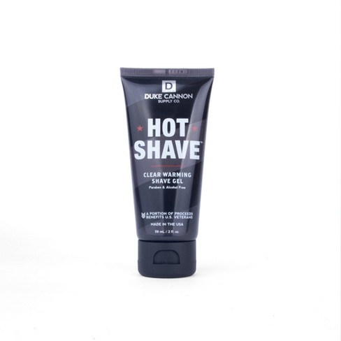 Duke Cannon Hot Shave Clear Warming Shave Gel Travel Size - 2 fl oz - image 1 of 3