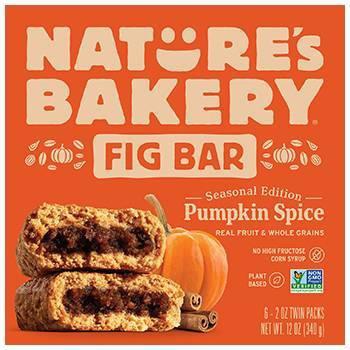 Nature's Bakery Pumpkin Fig Bars - 6ct