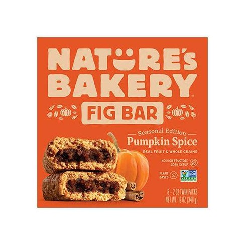 Nature's Bakery Pumpkin Fig Bars - 6ct - image 1 of 3