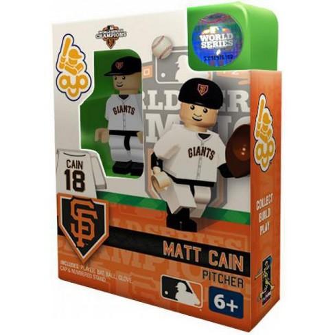 San Francisco Giants MLB 2012 World Series Champions Matt Cain Minifigure - image 1 of 2