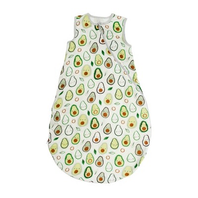 Loulou Lollipop Muslin Sleep Sack - Avocado 3-12 Months