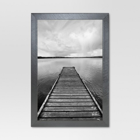 Metal Single Image Frame - Gunmetal - Project 62™ - image 1 of 5