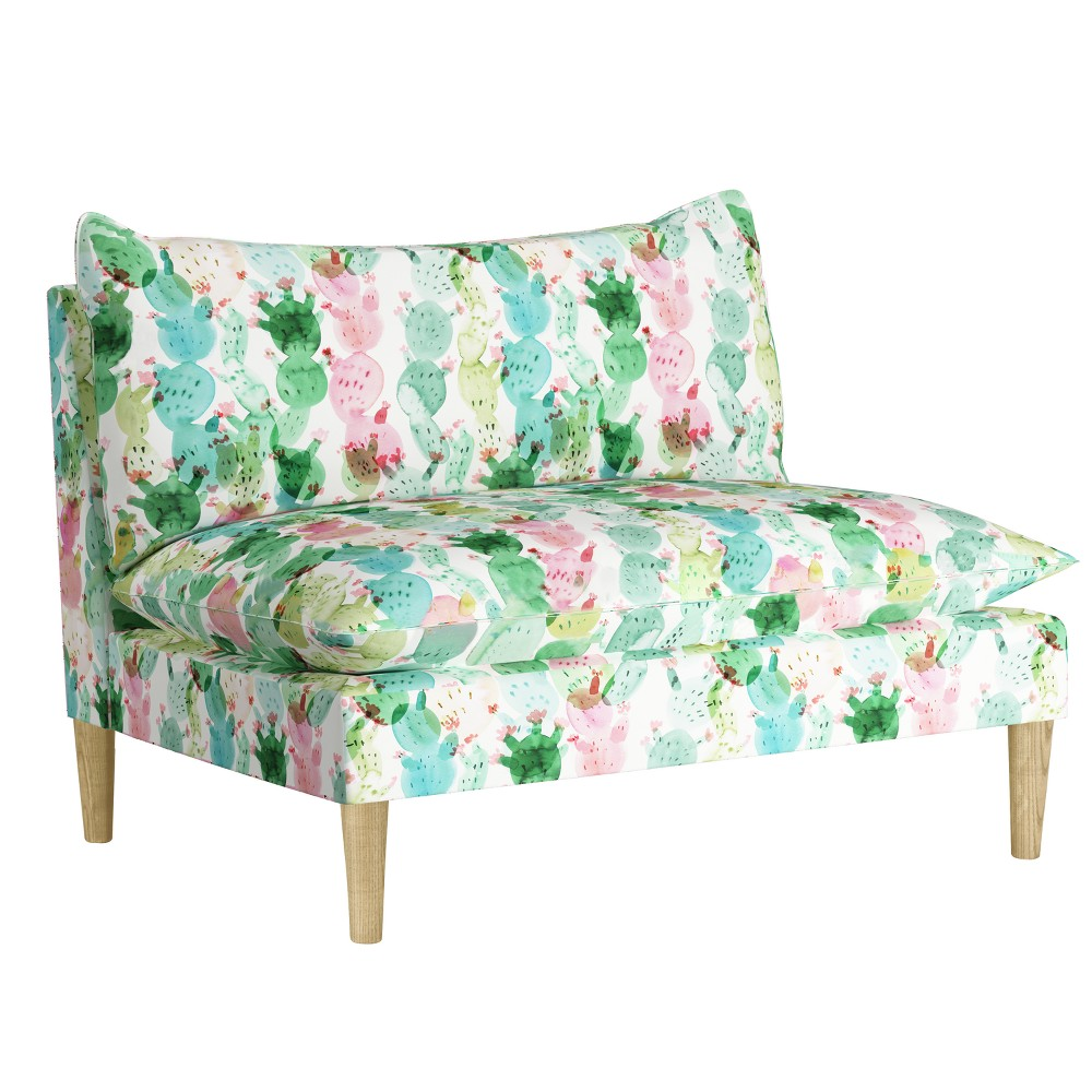 Image of Armless Love Seat - Cactus Love Multi - Designlovefest