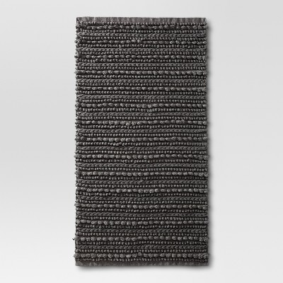 Chunky Bath Rug Radiant Gray (20 x34 )- Threshold™