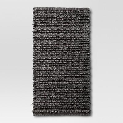 Chunky Bath Rug Radiant Gray (20 x34 )- Threshold™