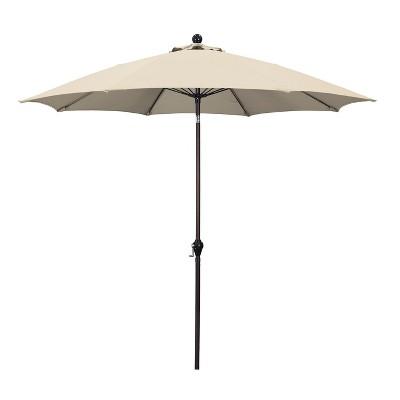 9' Aluminum Crank Lift Patio Umbrella - Astella