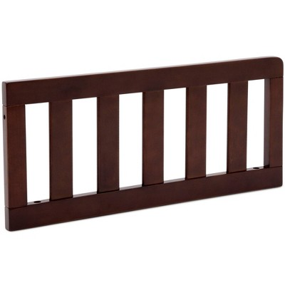Delta Children Toddler Guardrail - Walnut Espresso