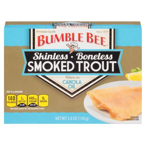 Bumble Bee® Skinless Smoked Trout in Canola Oil - 3.8oz - image 1 of 1