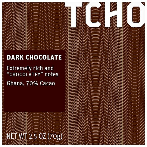TCHO Extremely Rich Dark Chocolate - 2.5oz - image 1 of 1