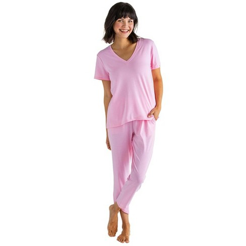 Softies Women's Capri-Length PJ Set with Tulip Hem - image 1 of 4
