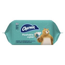 Charmin Freshmates Flushable Wipes