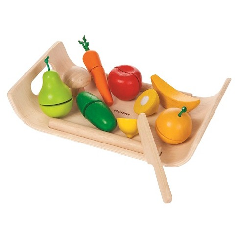 PlanToys® Activity Assorted Vegetable Playset - image 1 of 1