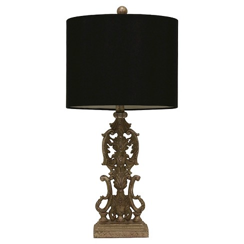 J. Hunt Resin Iron Gate Table Lamp (Lamp Only) - Silver/Black - image 1 of 3