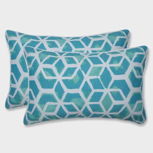 2pk Celtic Surfside Rectangular Throw Pillows Blue - Pillow Perfect - image 1 of 1