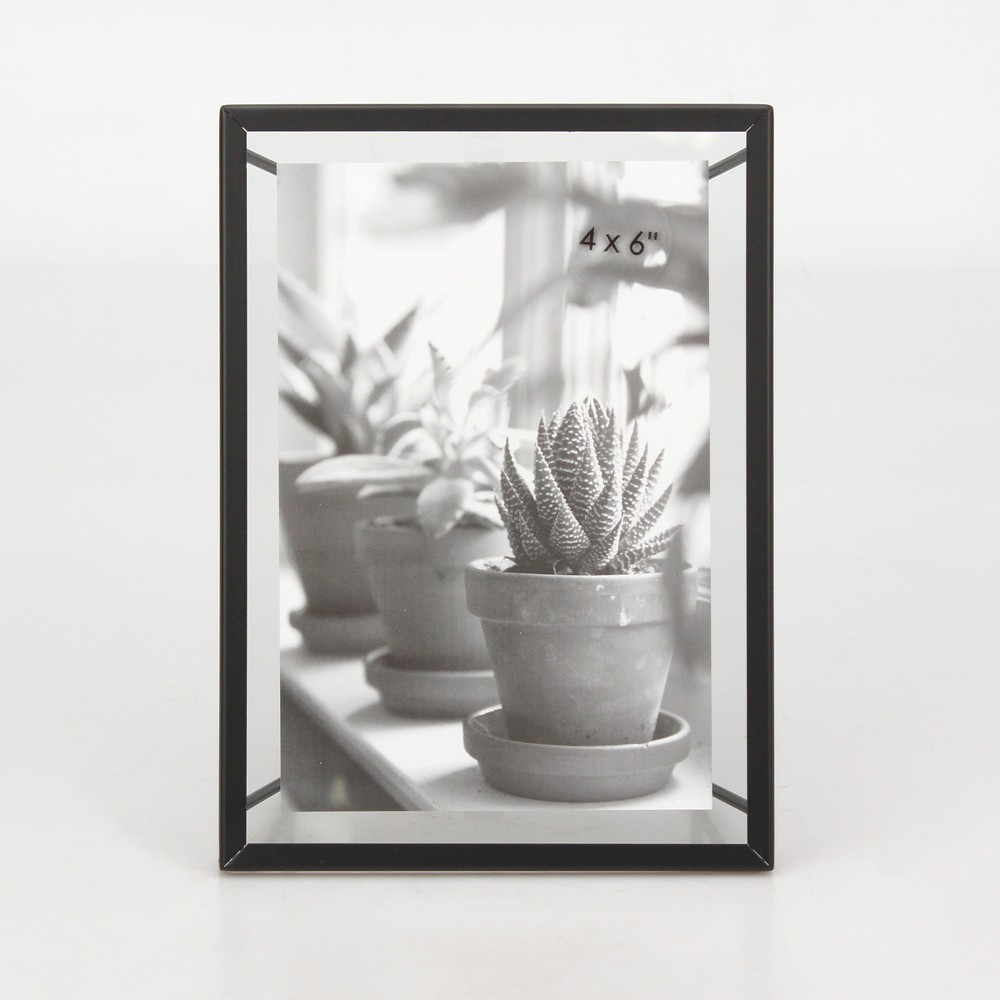 4 34 X 6 34 Frame With Symmetrical Wire Back Satin Black Project 62 8482