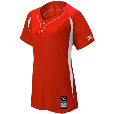 Mizuno Women's Elite 2-Button Game Jersey