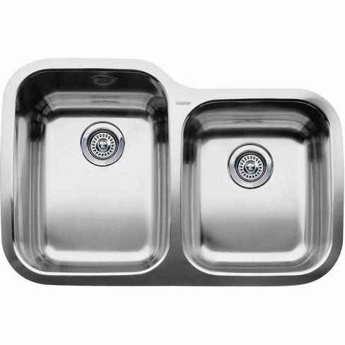 "Blanco 440236 Supreme 1-3/4 Basin Undermount Stainless Steel Kitchen Sink 31 5/16"" x 20 7/8"" - image 1 of 1"