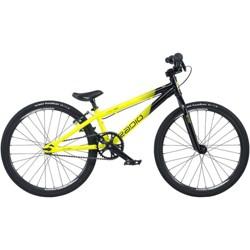 "Radio Raceline Cobalt 20"" Mini Complete BMX Bike 17.5"" Top Tube Black/Yellow"