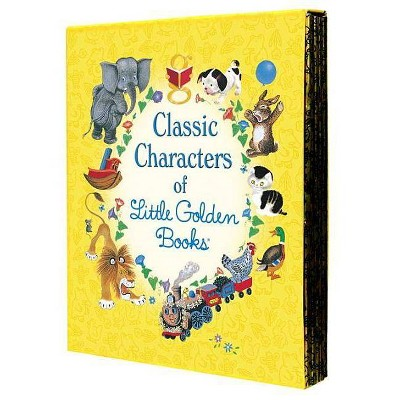 Classic Characters of Little Golden Book (Hardcover)- by Golden Books Publishing Company