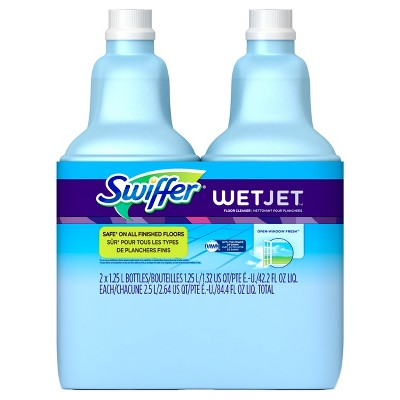 Swiffer Wet Jet Multi-purpose Cleaner Open Window Fresh - 2 pack
