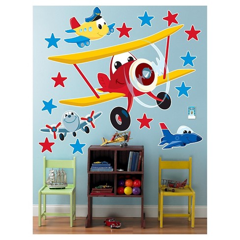 Airplane Adventure Wall Decal - image 1 of 1