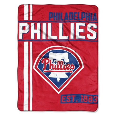 MLB Philadelphia Phillies Micro Fleece Throw Blanket - image 1 of 2