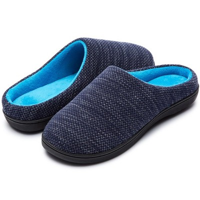 RockDove Women's Birdseye Knit Two-Tone Memory Foam Slipper