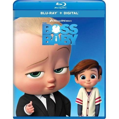 The Boss Baby Blu Ray Digital Target