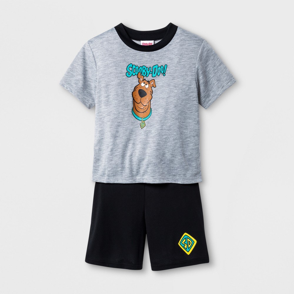 Boys' Scooby-Doo 2pc Pajama Set - Gray 8