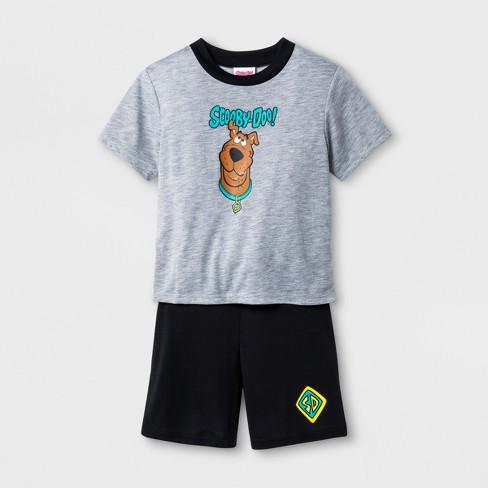 Boys  Scooby-Doo 2pc Pajama Set - Gray   Target eb0dcdfa5