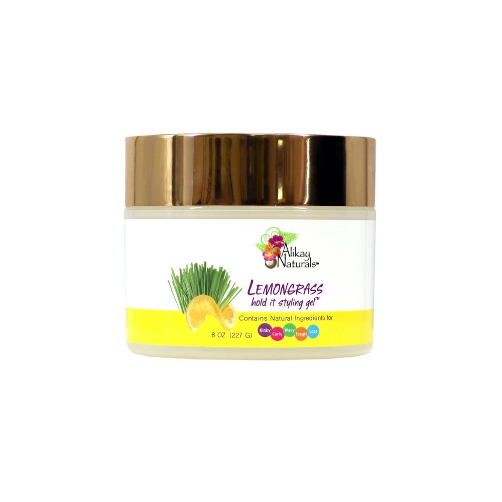 Image of Alikay Naturals Lemongrass Hold It Styling Gel - 8oz