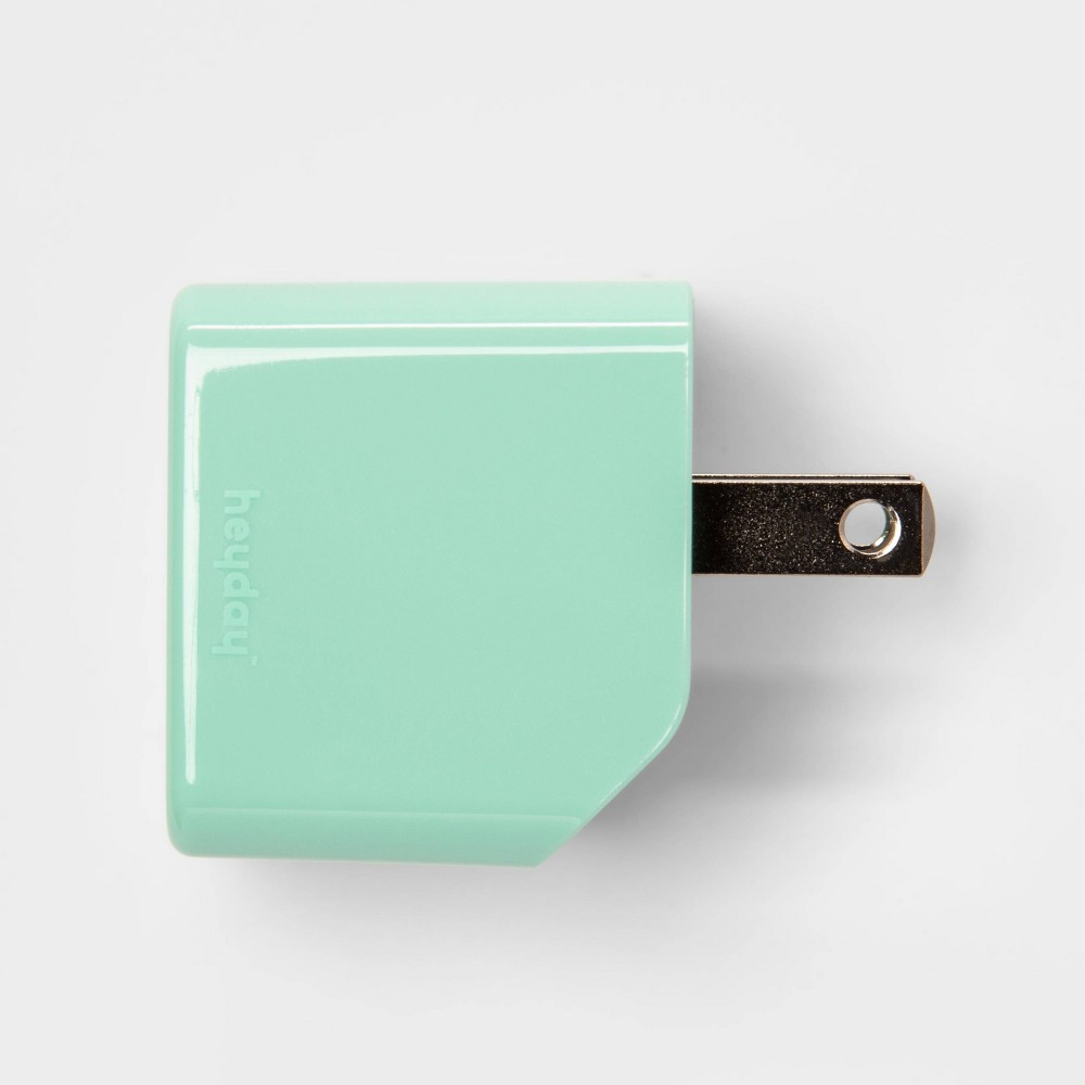 heyday Usb Wall Charger - Teal (Blue)