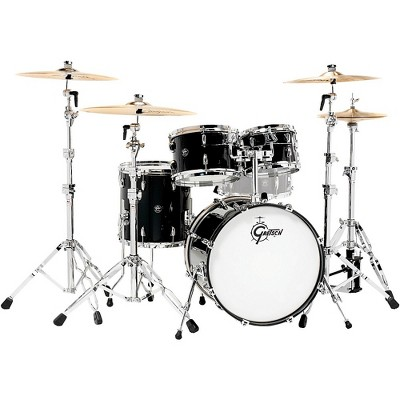 """Gretsch Drums Renown 4-Piece Shell Pack with 20"""" Bass Drum Piano Black"""