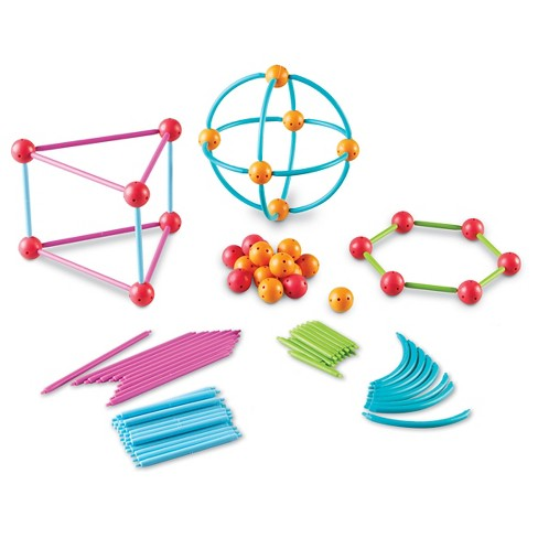 Learning Resources Geometric Shapes Building Set - image 1 of 3