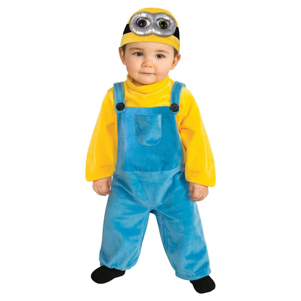 Toddler Kids' Minions Bob Costume, Toddler Boy's