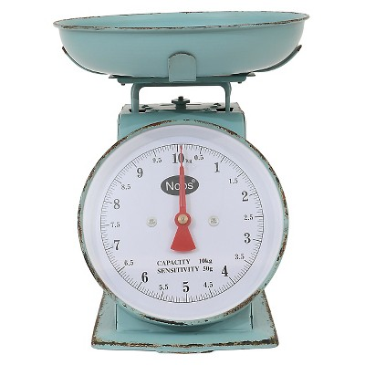 Freemont Metal Household Scale - Turquoise - Beekman 1802 FarmHouse™