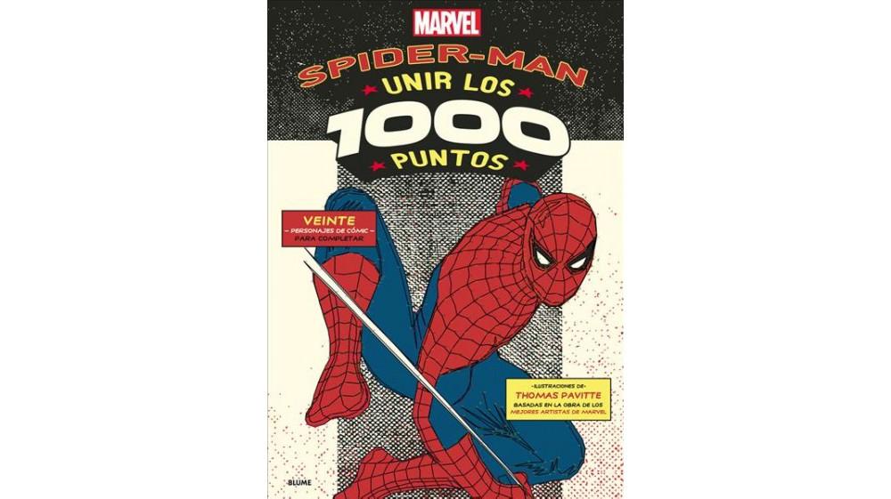 Marvel Spider-Man : Unir los 1000 puntos / 1000 Dot-to-Do...