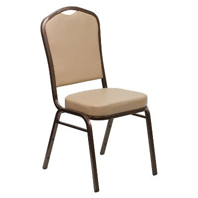 Banquet Chair Tan - Riverstone Furniture Collection