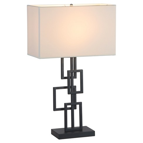 "Modern Black Square 26"" Table Lamp  - ZM Home - image 1 of 4"