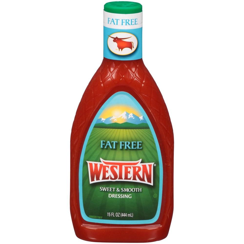 Western Fat Free Sweet Smooth Dressing Bottle 15 Fl Oz
