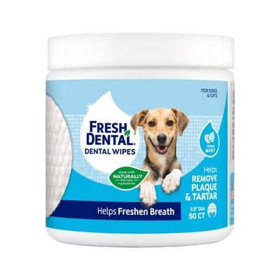 Naturel Promise Fresh Dental Wipes - 50ct
