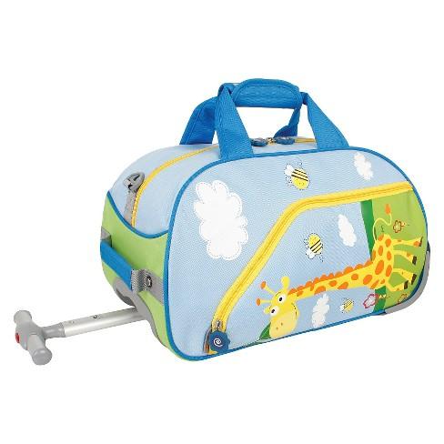 J World Savanna Kids' Rolling Duffel Bag - Blue - image 1 of 4