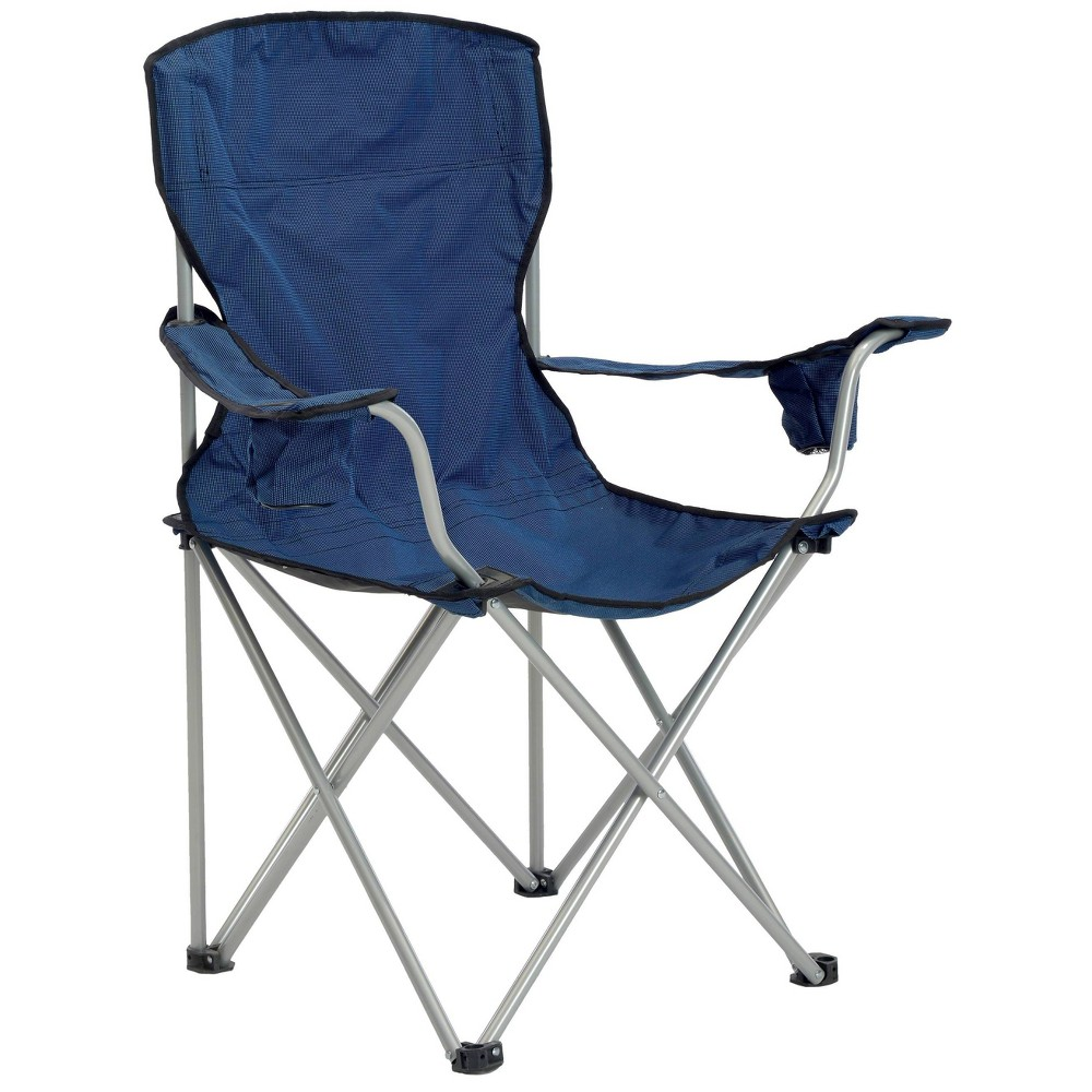 Image of Quik Shade Deluxe Folding Chair - Navy/Black
