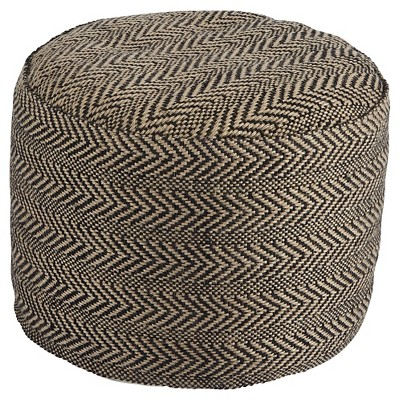 Chevron Pouf - - Signature Design by Ashley