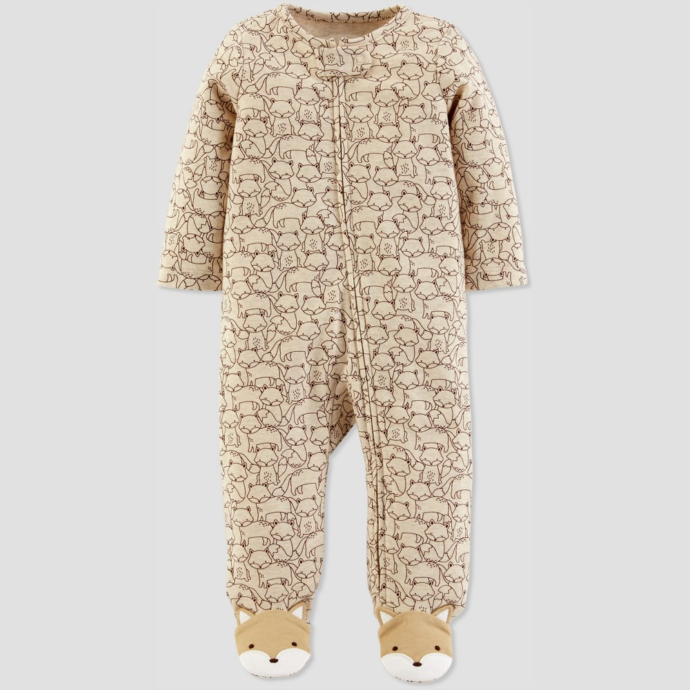 Baby Boys' Fox Sleep 'N Play - Just One You made by carter's Heather Brown 9M