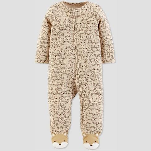 02aeb9cf7 Baby Boys' Fox Sleep 'N Play - Just One You® made by carter's Heather Brown